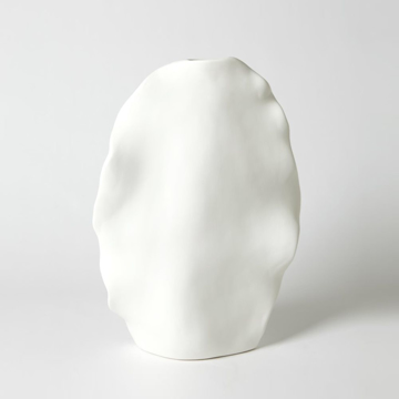 Picture of KELP VASE TALL, MATTE WHITE
